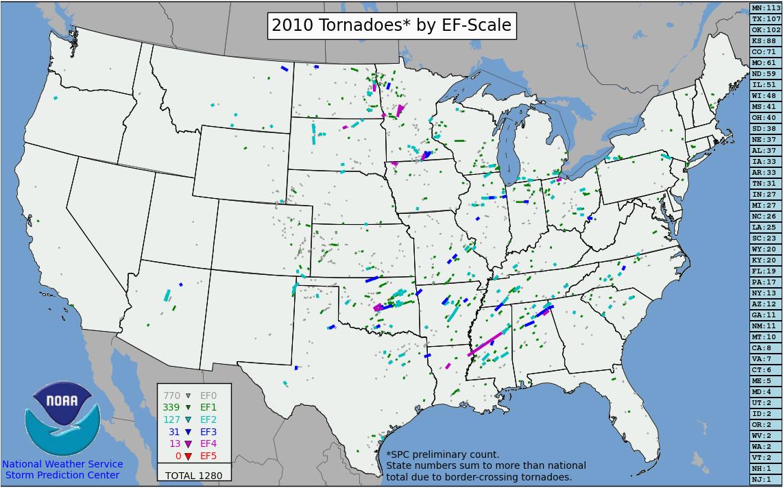 tornadoes of 2010 wikipedia