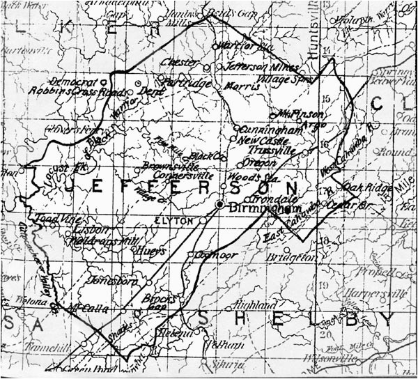 maps of the hueytown area