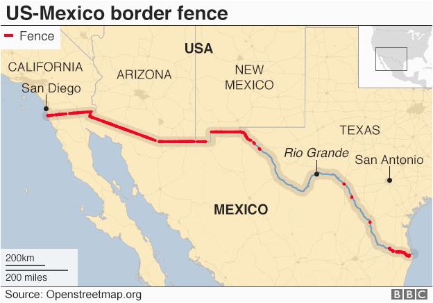 trump wall president addresses nation on border crisis bbc news