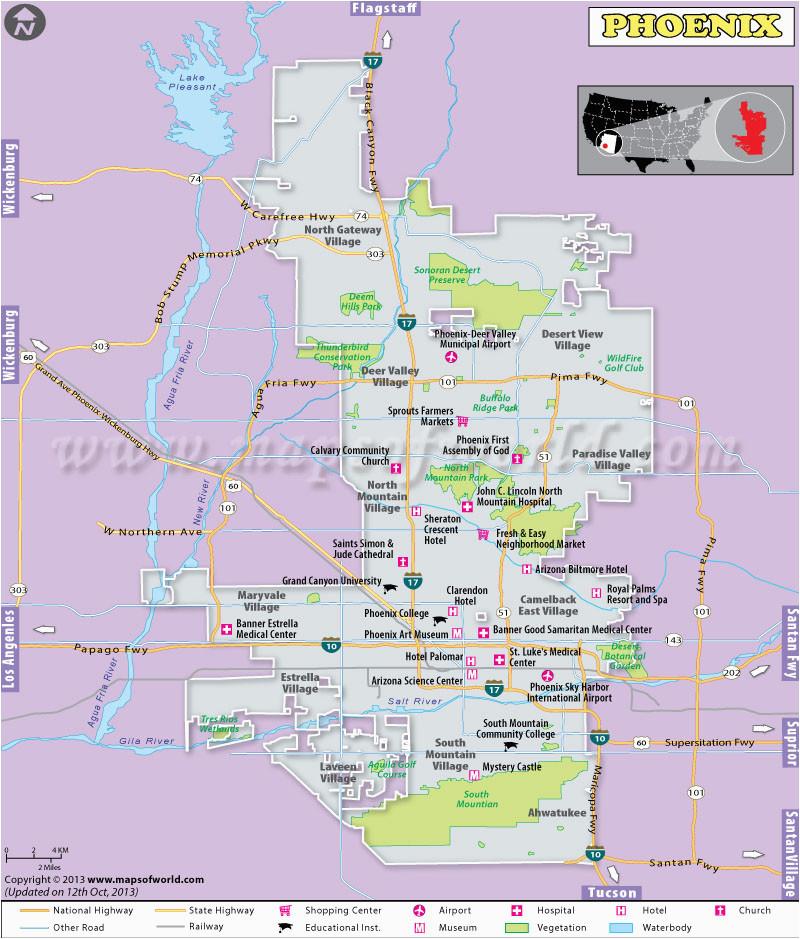 buy phoenix city map