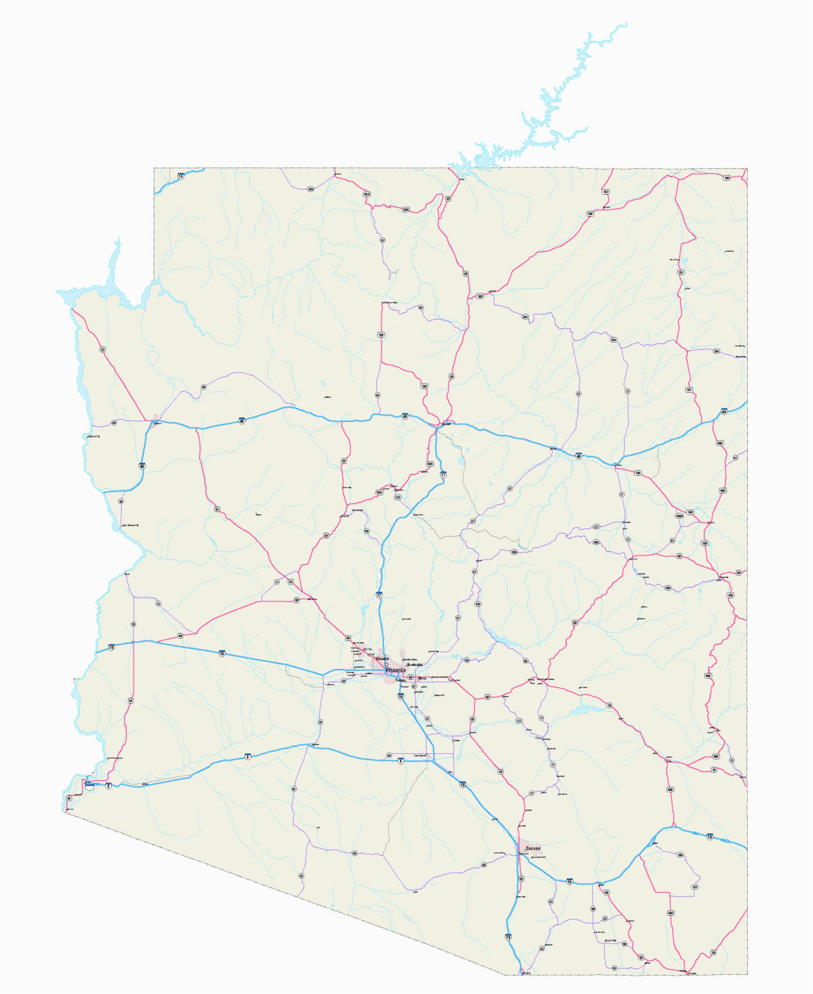arizona county map best of arizona map us arizona maps free arizona