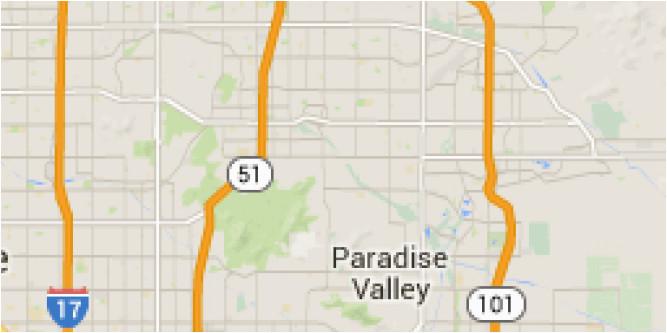 Map Of Arizona Scottsdale Map Of Scottsdale Az Maps ...