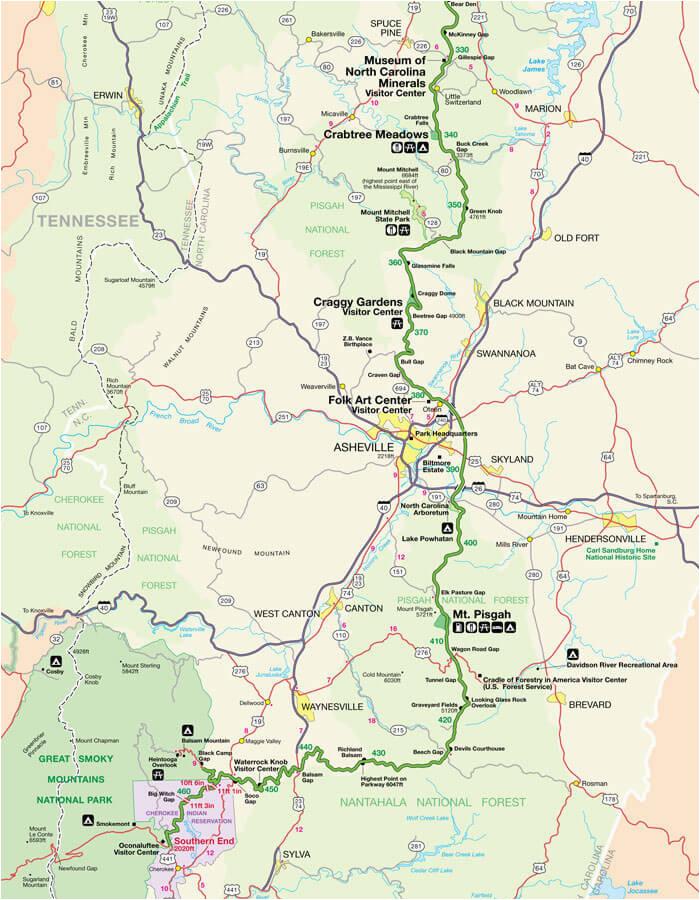 appalachian trail north carolina map maps directions
