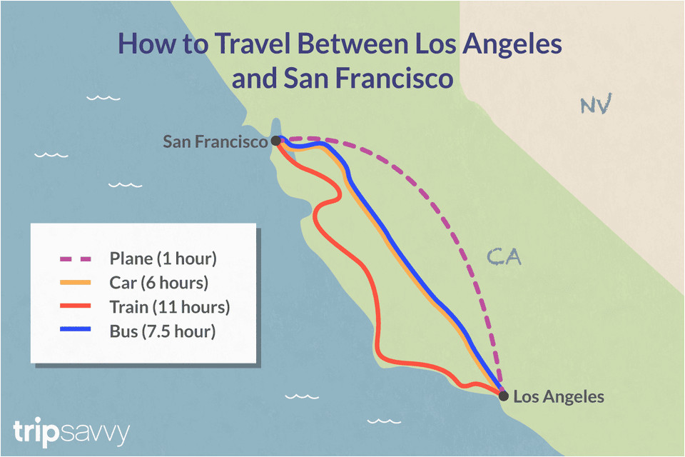 Map Of California Airports Near Los Angeles Traveling ...