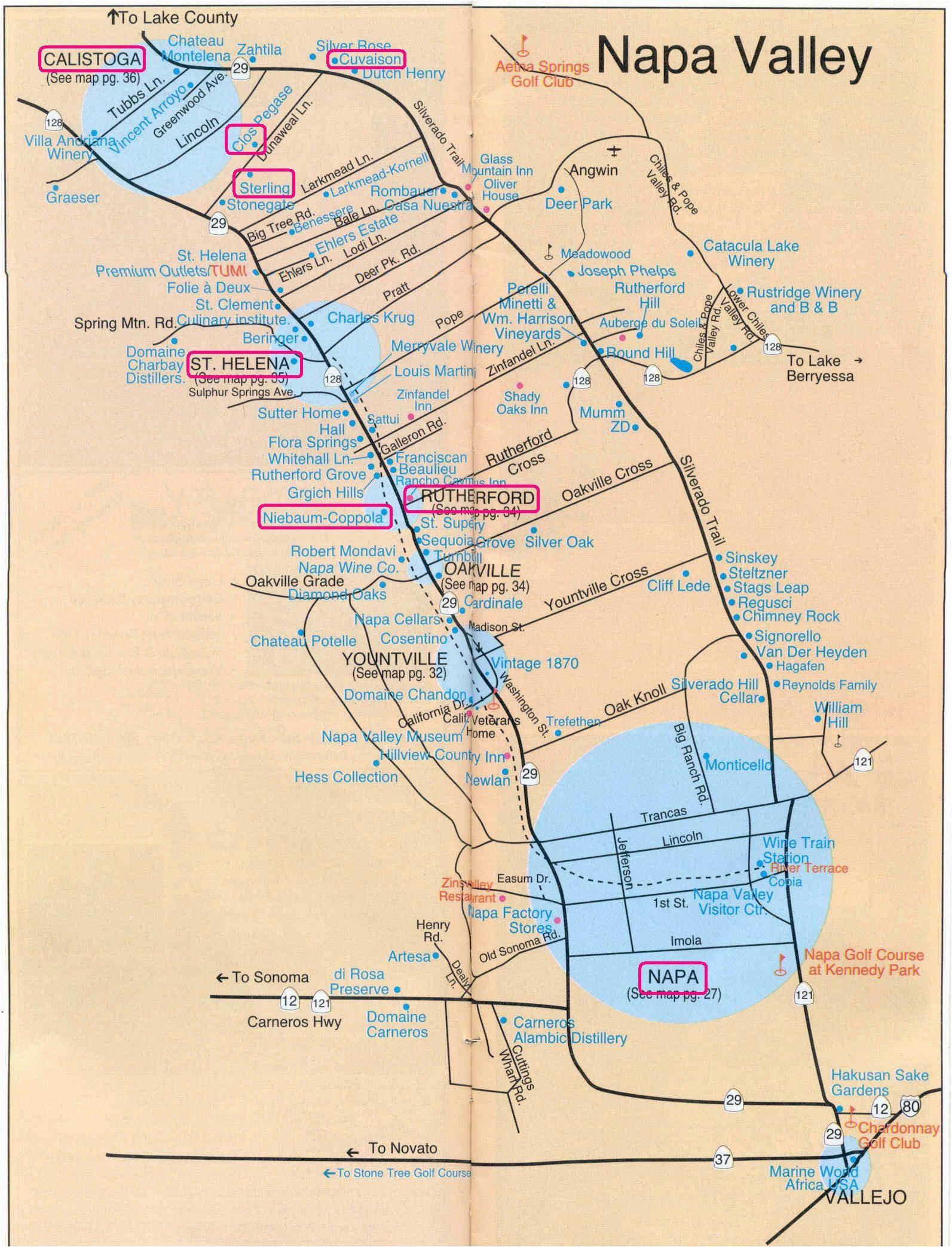 printable napa wine map sanda kaufman s image collection napa