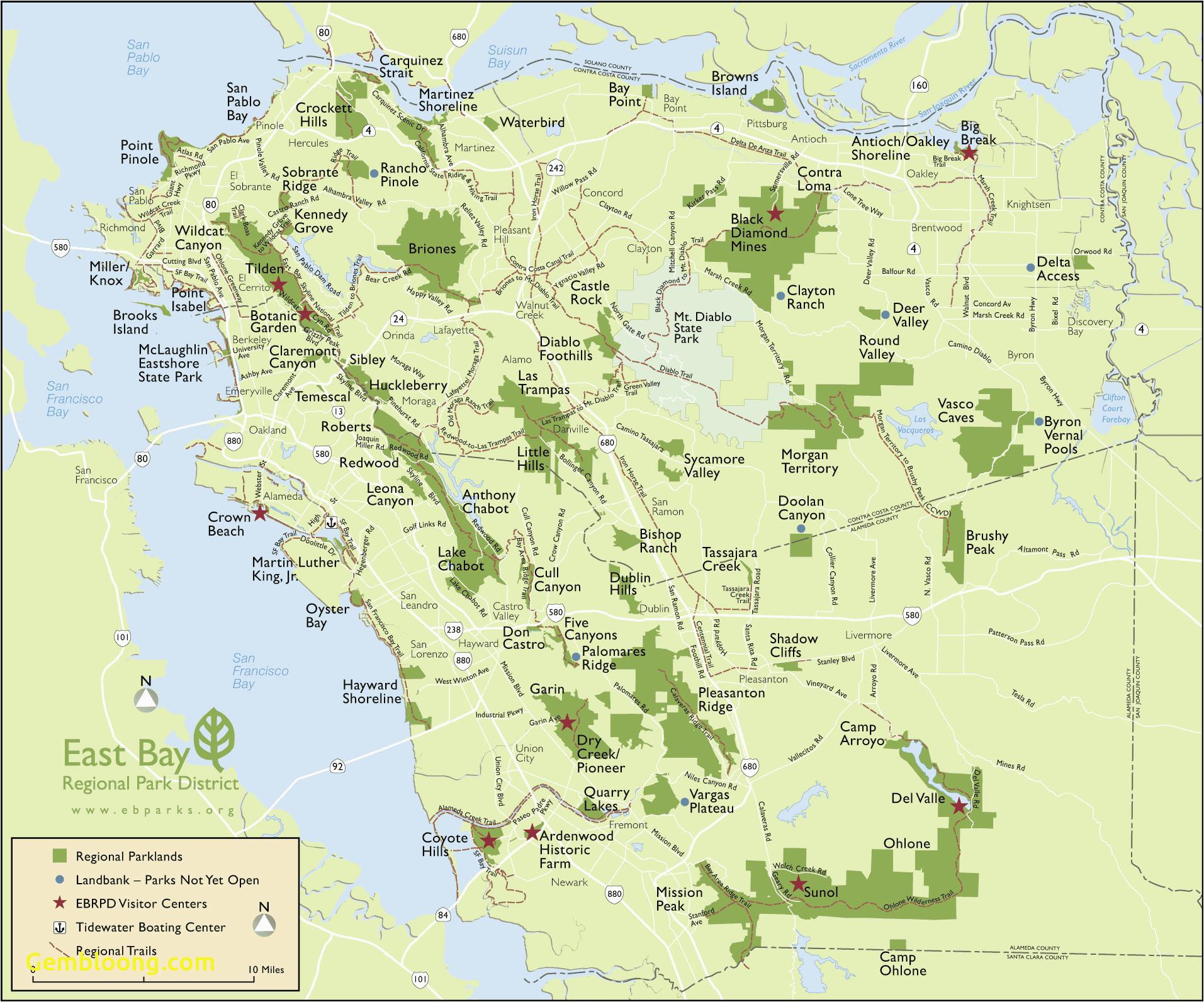map southern california coast map san francisco bay area