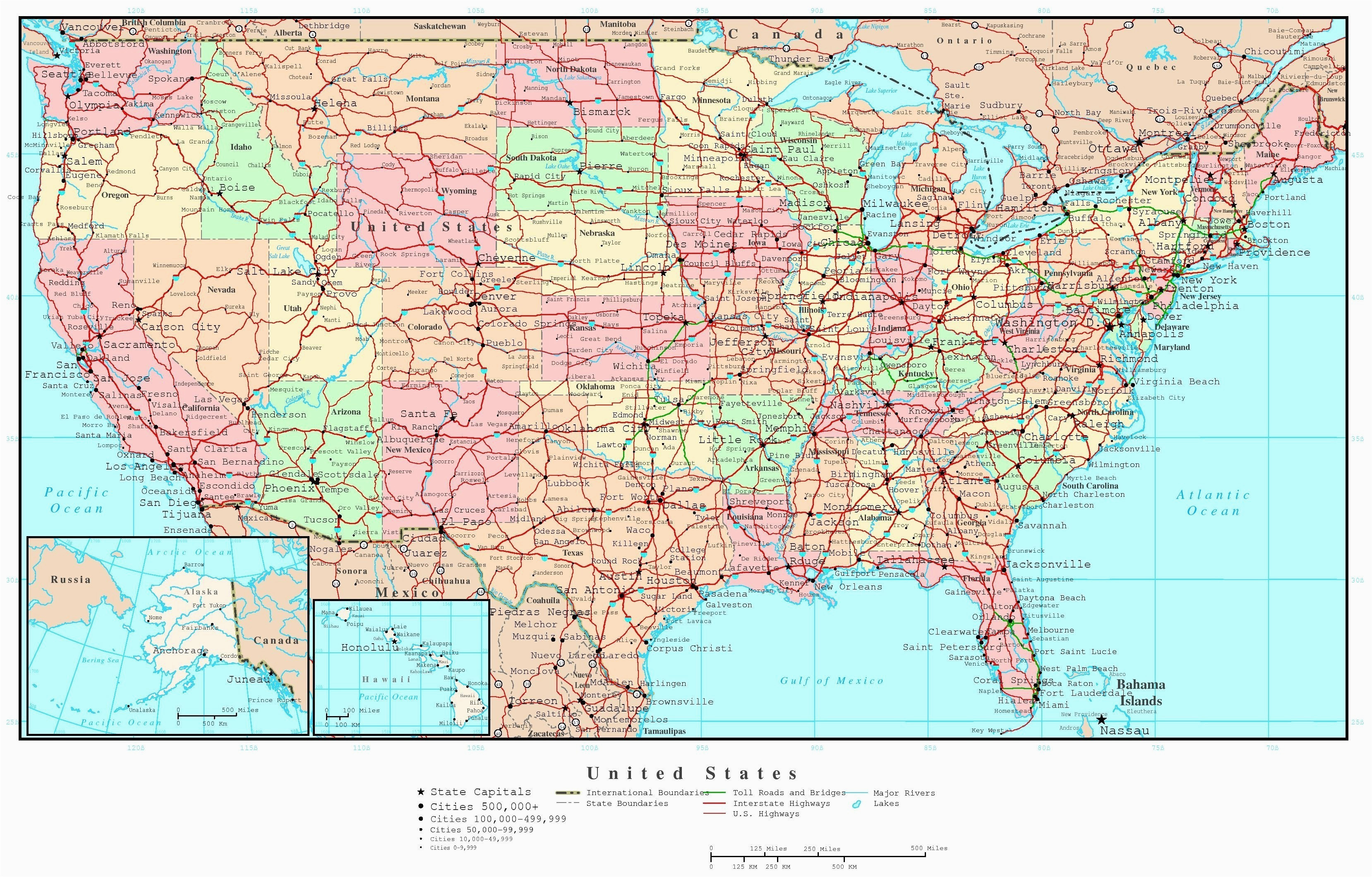 Map Of California Highways and Freeways United States Map ...