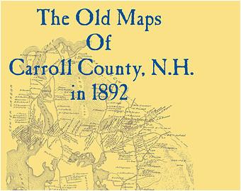 carroll county map etsy