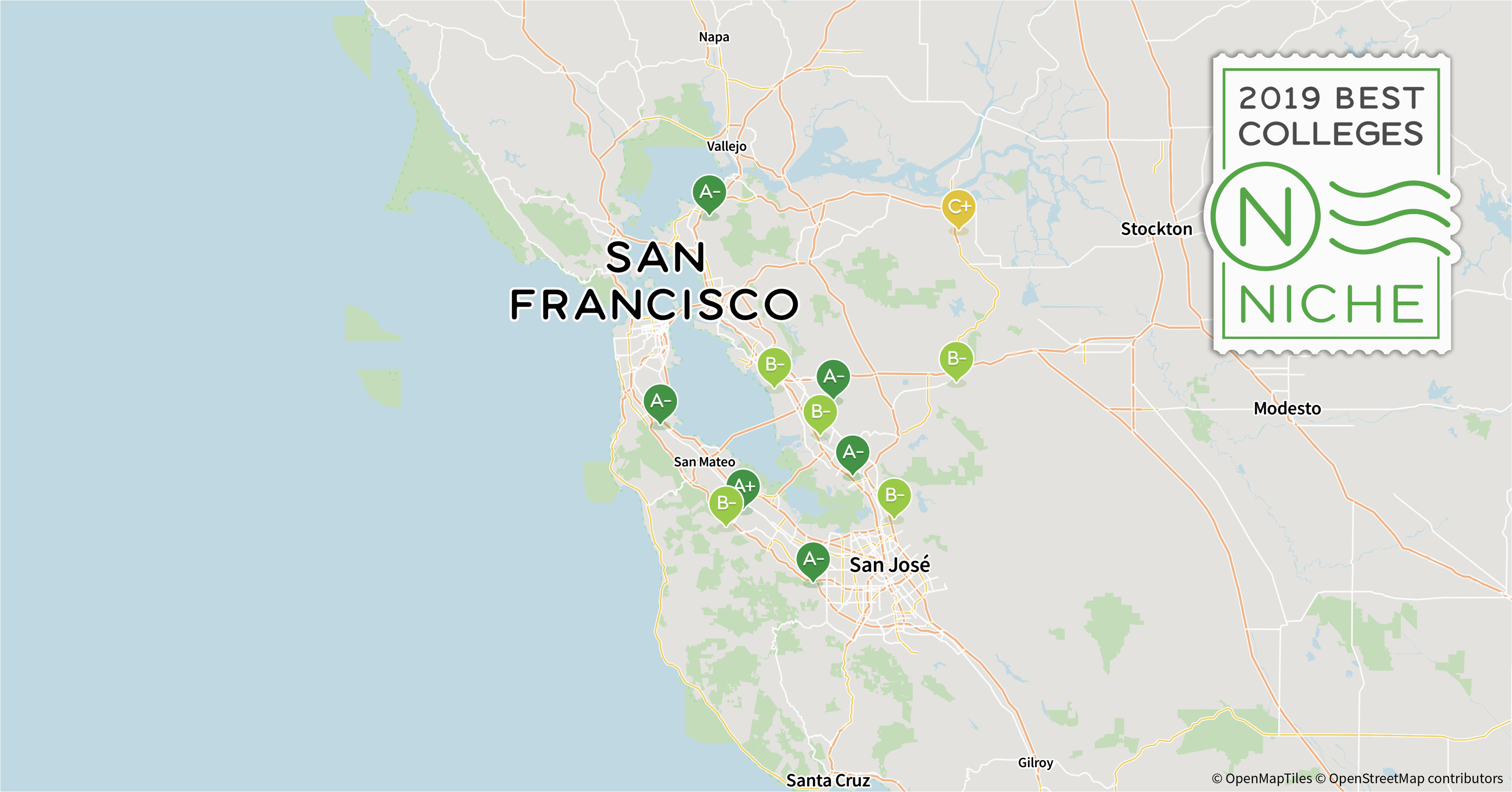 2019 best colleges in san francisco bay area niche