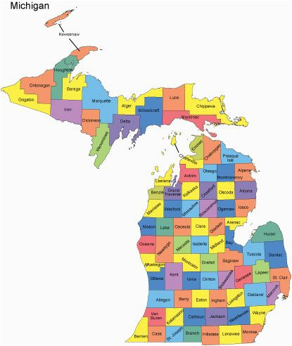 Map Of Counties In Michigan Michigan Map with Counties Big Michigan Love Michigan Map Big