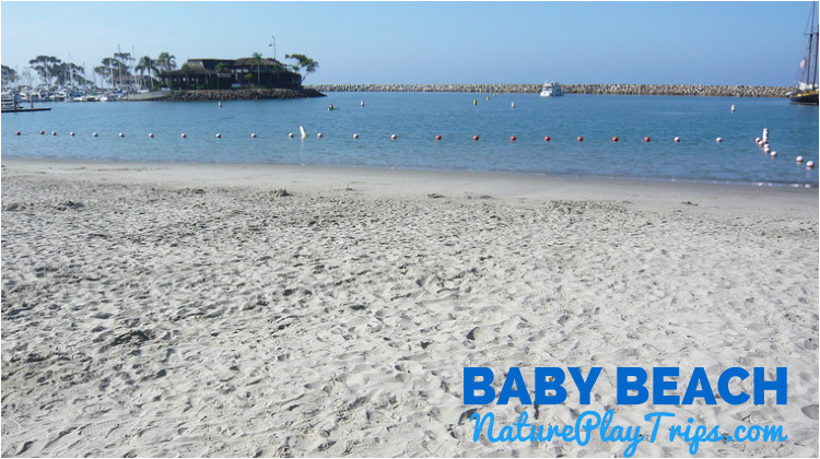 baby beach in dana point harbor