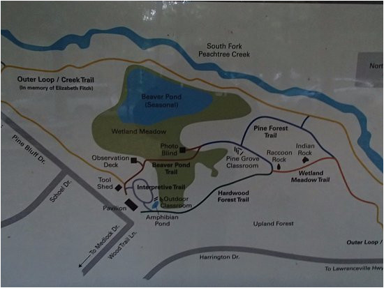 trail map of clyde shepherd nature preserve picture of clyde
