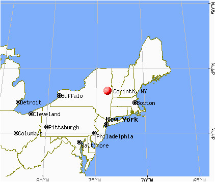corinth new york ny 12822 profile population maps real estate