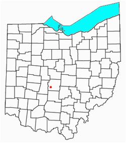 Map Of Galloway Ohio Galloway Revolvy