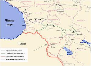 transcaucasus railway wikipedia