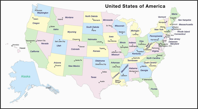Map Of Georgia Usa Coastline Us East Coast Map with Cities ...