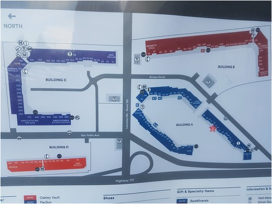 mapa picture of gilroy premium outlets gilroy tripadvisor