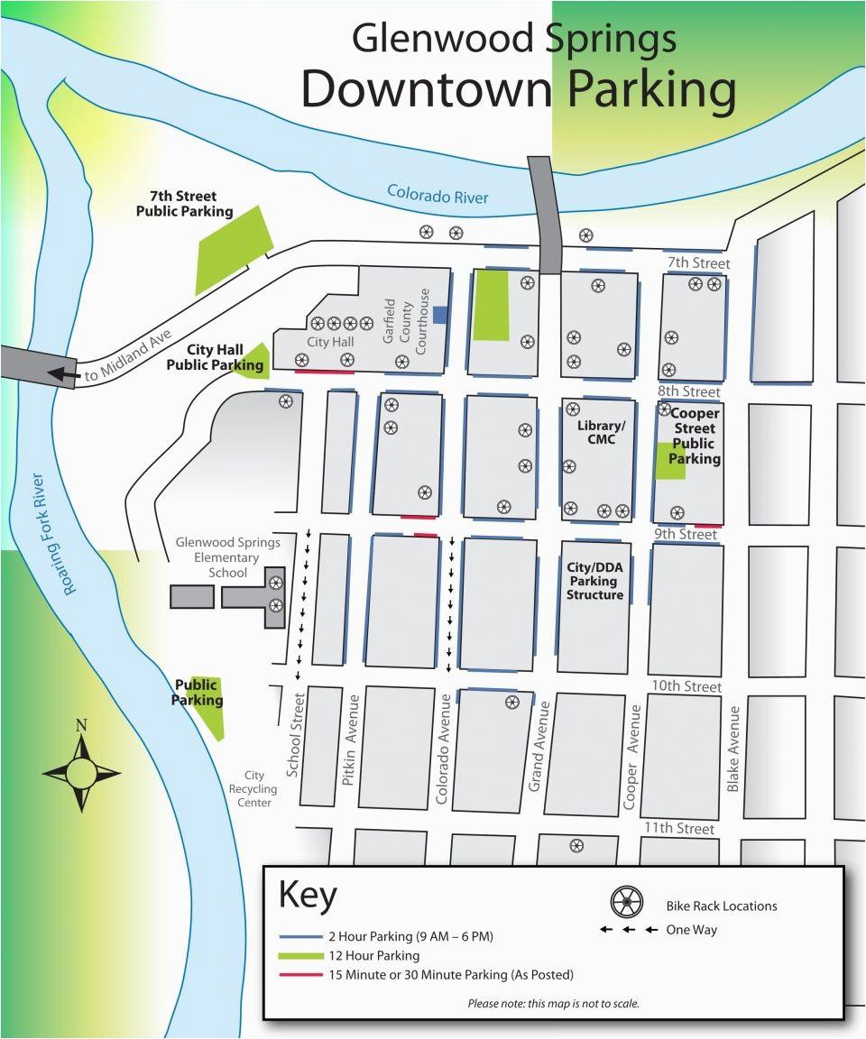 parking map for downtown glenwood springs glenwood springs blog