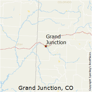 Map Of Grand Junction Colorado | secretmuseum