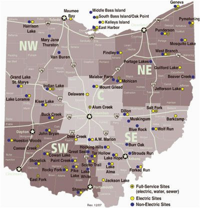 list of ohio state parks with campgrounds dreaming of a pink