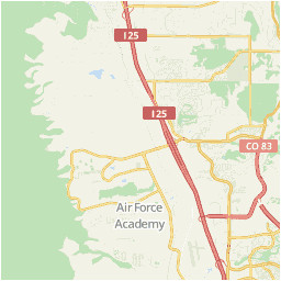 colorado springs area map u s news travel