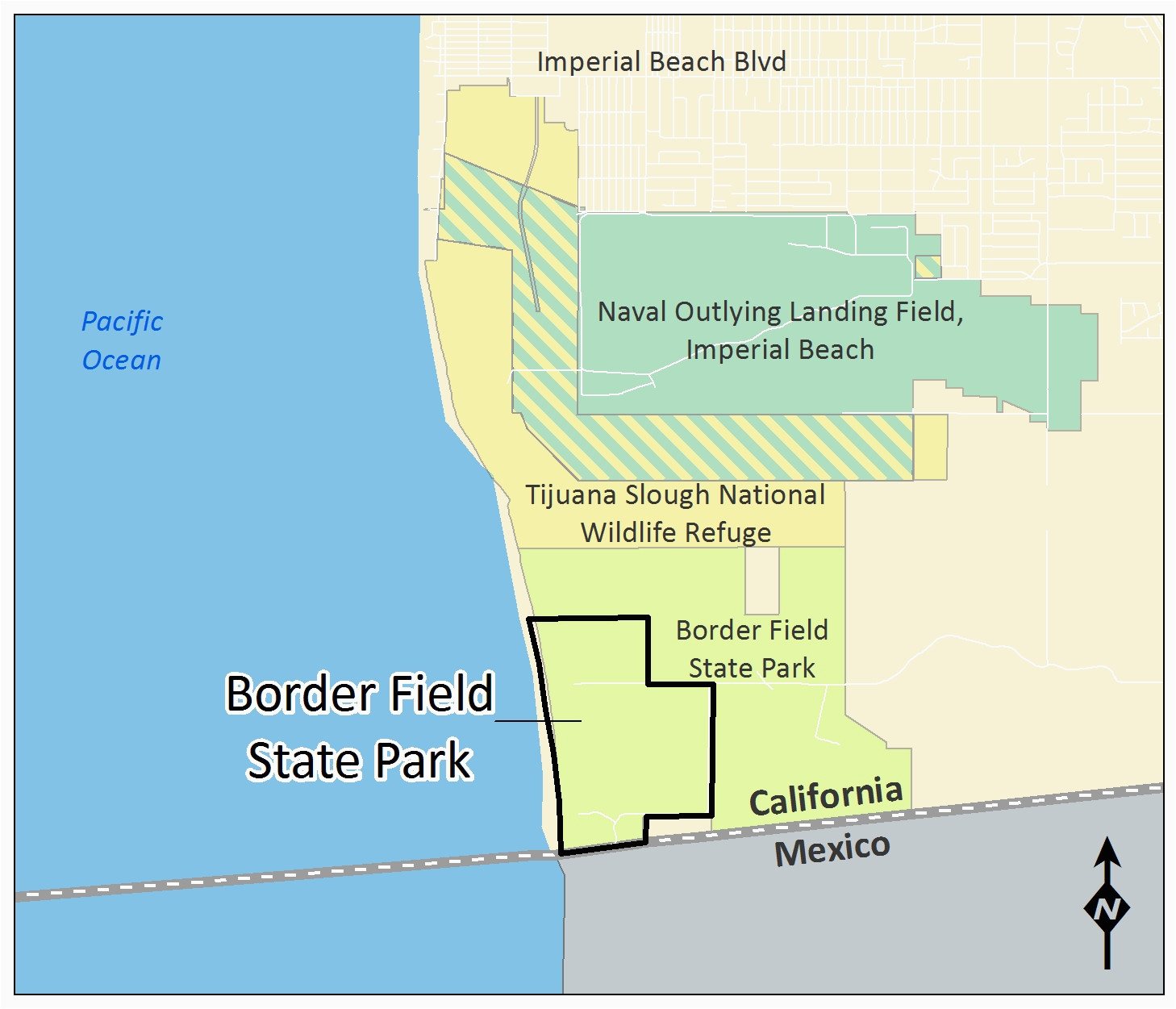 borders field state park