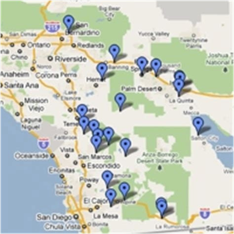 Map Of Indian Casinos In California Wisconsin Casinos Map ...