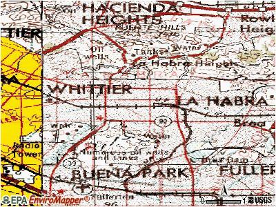 Sothern California Map La Habra Ca.Map Of La Habra California Secretmuseum