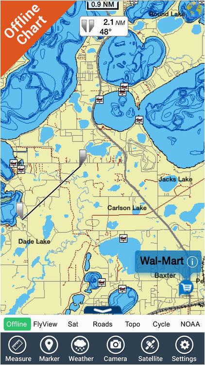 lake guntersville map hd gps fishing charts by flytomap