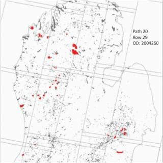 map of lakes 4 ha across the lower peninsula of michigan 43 30
