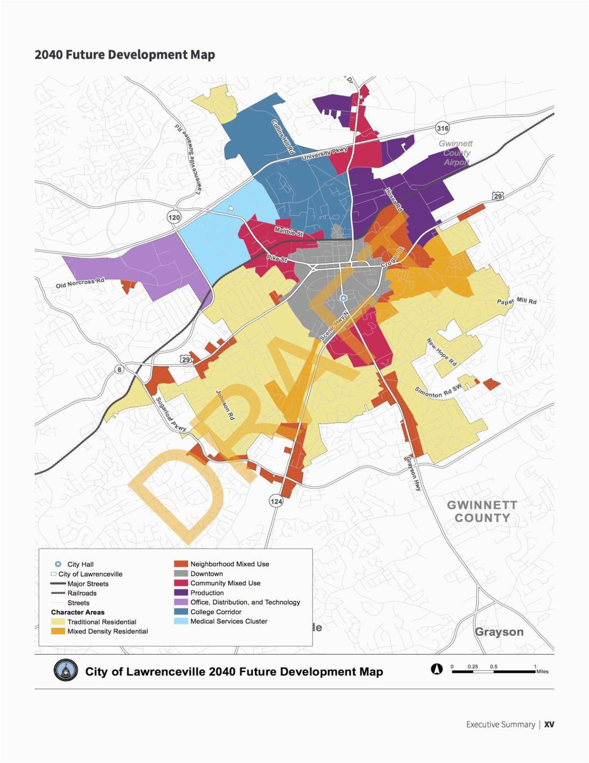 lawrenceville adopts 20 year development growth plan news