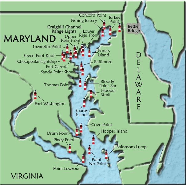 maryland lighthouses i want to see them all we need a vacation
