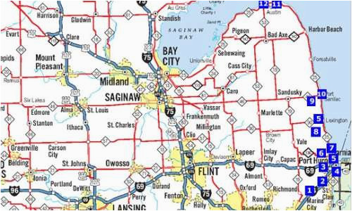 how did michigan cities get their names michigan
