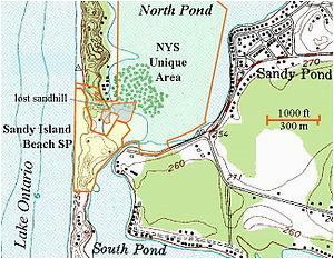 sandy island beach state park wikipedia