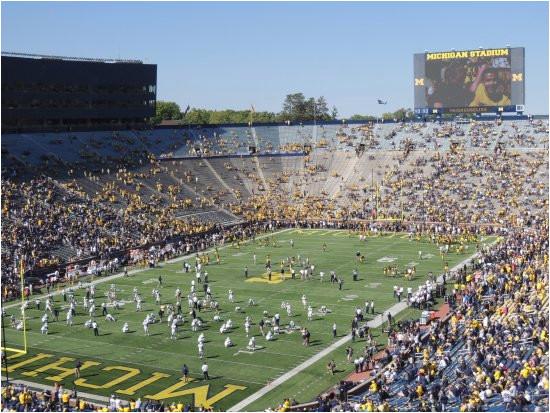 field picture of michigan stadium ann arbor tripadvisor