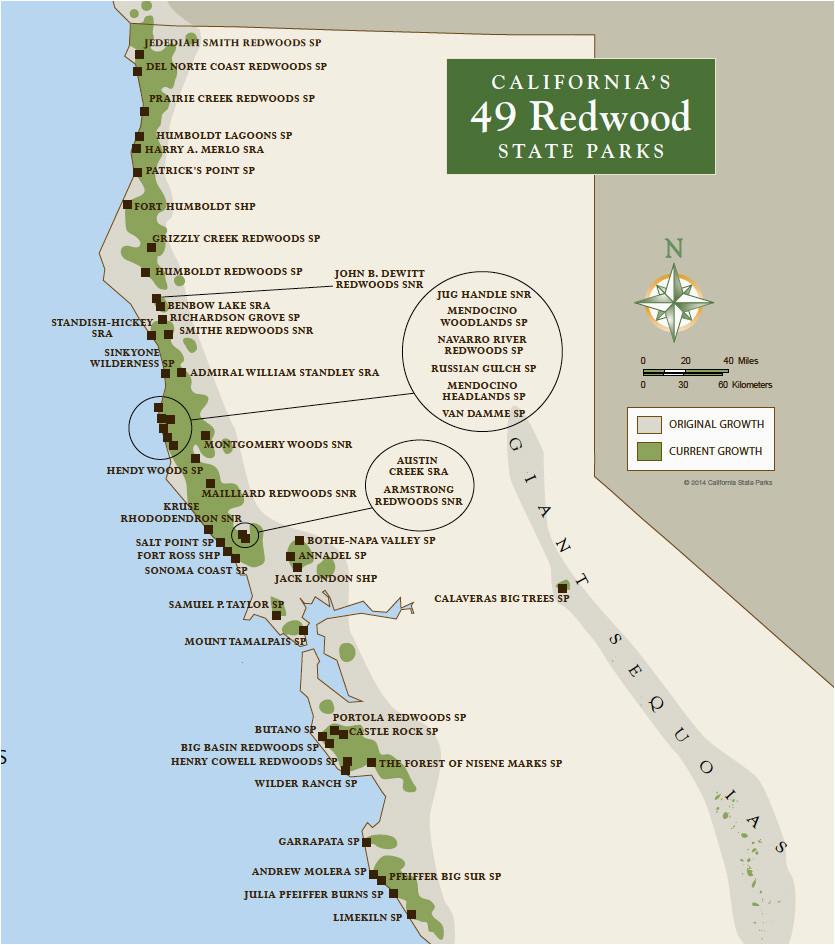 free california state parks map of california springs california