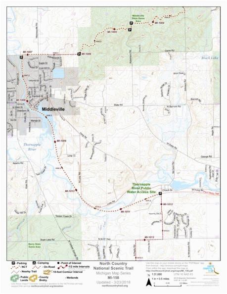 Map Of Newaygo County Michigan Secretmuseum