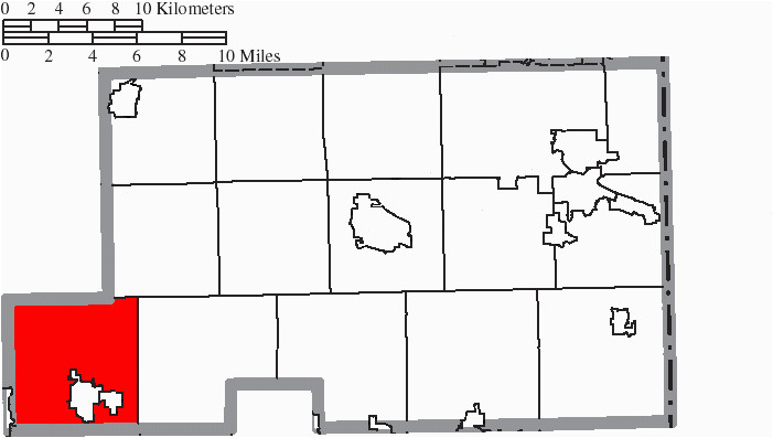 file map of mahoning county ohio highlighting smith township png