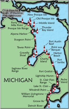 lake huron map awesome 143 best michigan lake effect images on