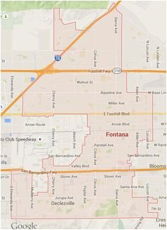 fontana ca map awesome map of redlands ca maps directions