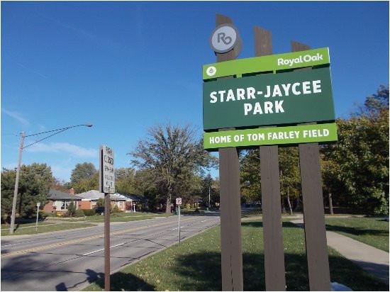 starr jaycee park 13 mile rd east of crooks rd royal oak mi