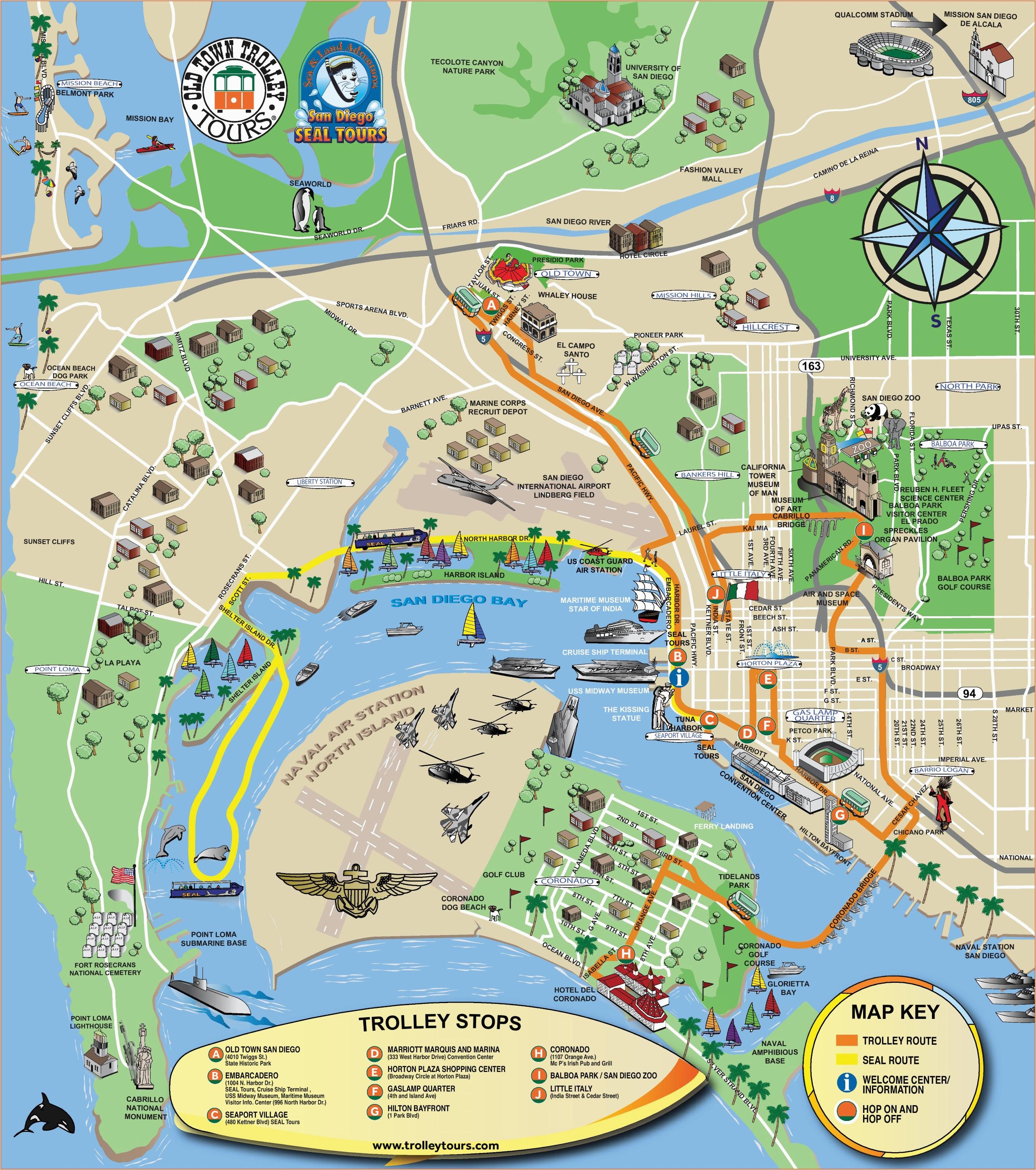 san diego maps california u s maps of san diego