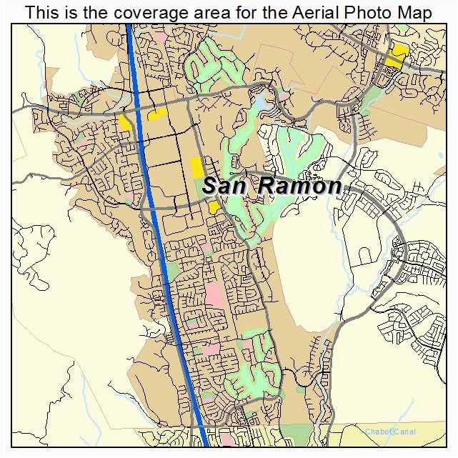 san ramon ca map maps directions
