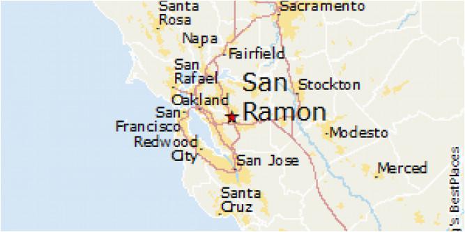 San Ramon Ca Map Map Of San Ramon California | secretmuseum