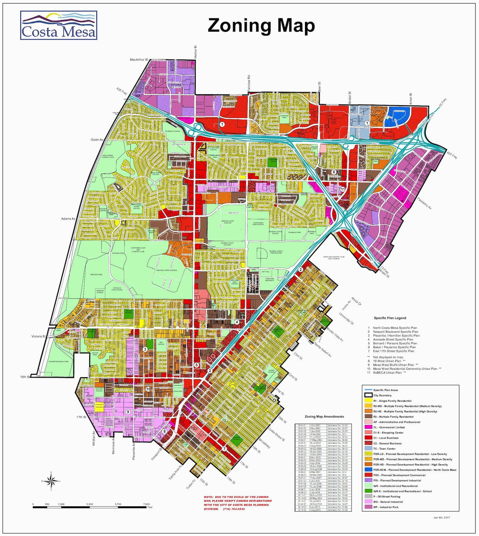 map of santa ana california area free printable calameo city costa