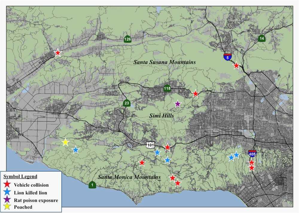 Map Of Santa Monica California Santa Monica California Map ...