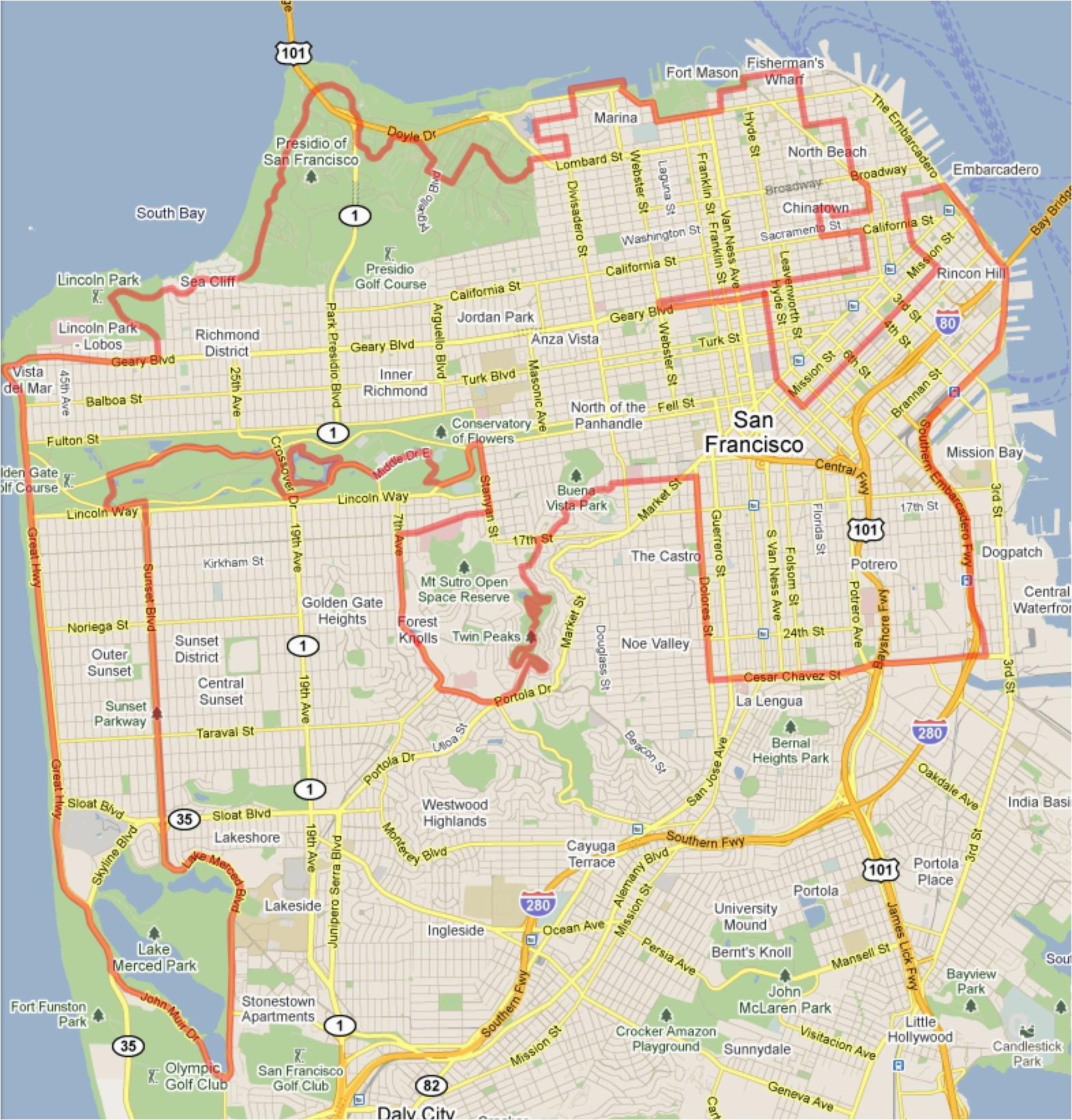 Map Of Santa Monica California | secretmuseum