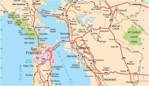 san francisco maps for visitors bay city guide san francisco