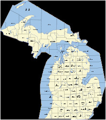outline of michigan wikipedia