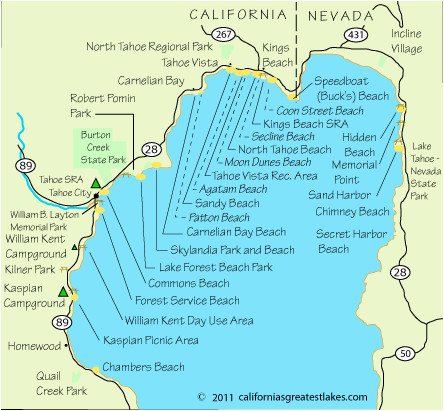 Map Of Truckee California Secretmuseum